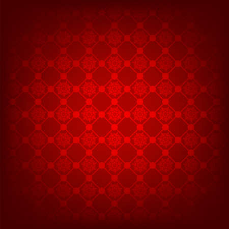 Seamless deep red christmas texture pattern. EPS 8 vector file included Vector