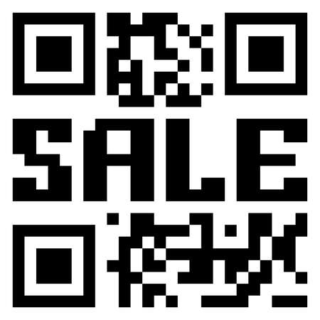 QR code for item in sale. EPS 8 vector file included Stock Vector - 8428685