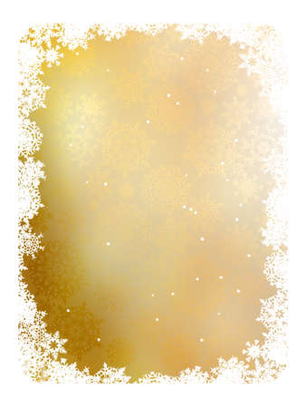 Golden christmas background. EPS 8 vector file included  Vector