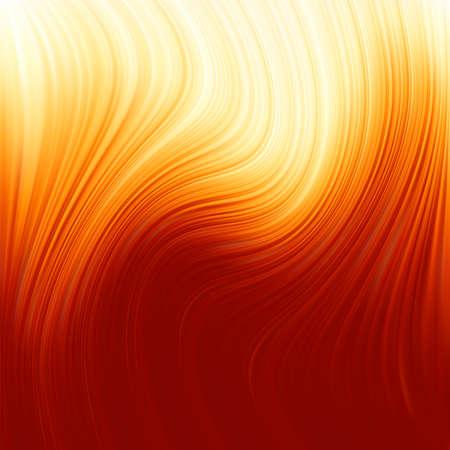 twist: Abstract glow Twist background with golden flow. Illustration