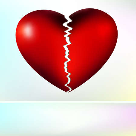 lost love: Nice  broken heart.