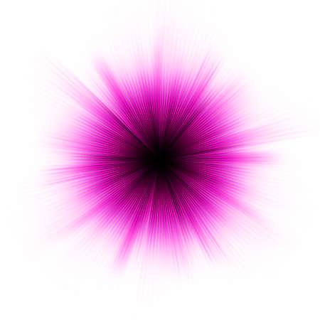 Abstract burst on white, easy edit. Stock Photo - 8919763