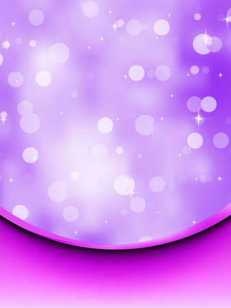 Bokeh card with purple silk.  Stock Vector - 9007050