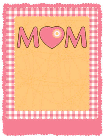 Happy Mother's Day Flyer/Poster Template. EPS 8 vector file included Stock Vector - 9088967