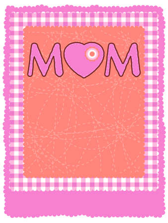 Happy Mother's Day. EPS 8 vector file included Stock Vector - 9191952