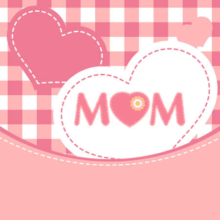bumpy: Happy Mothers Day. EPS 8 vector file included