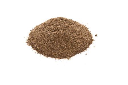 Ground black pepper. isolated on white background Stock Photo - 9508995