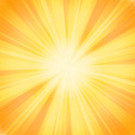 Nieuwe lijn van zonnestraal. Vector Illustratie