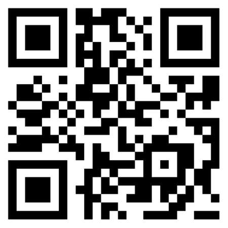 Grande vendita qr code di elemento in vendita. codice a barre moderno.