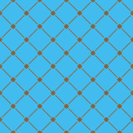 Vintage seamless pattern. EPS 8 vector file included