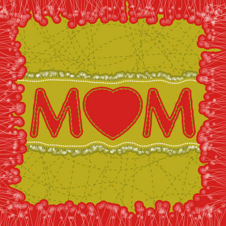 Happy Mother's Day dard template. EPS 8 vector file included Stock Vector - 9714091