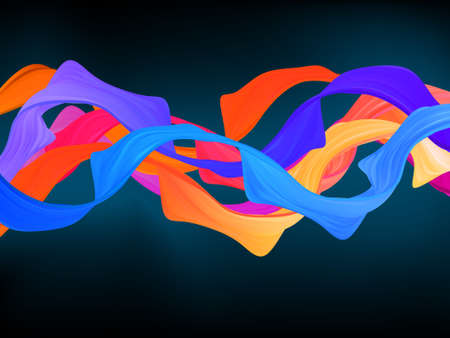 Dark colorful abstract background. Stock Vector - 9714332