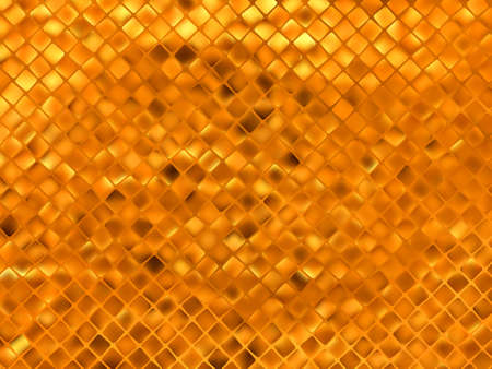 Orange gold mosaic background. EPS 8 vector file included Vector