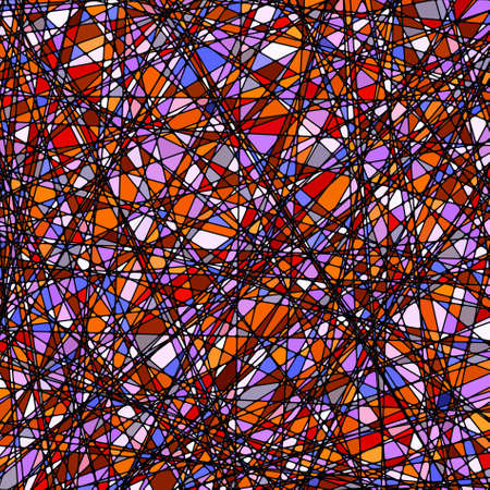 Stained glass texture in a purple tone, different orientation. EPS 8 vector file included Vector