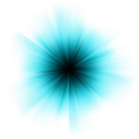 Abstract burst on white, easy edit. EPS 8 vector file included Vector Illustration