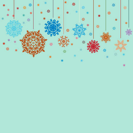 Design for xmas card background. EPS 8 vector file included Vector