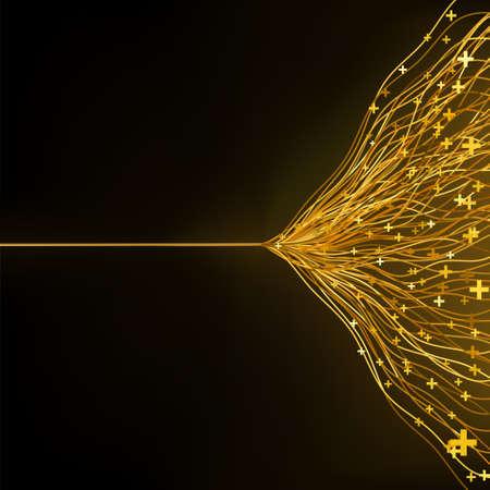 ambiguity: laser vector wave