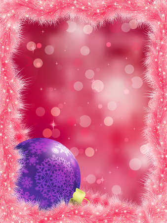 Elegant christmas background. EPS 8 vector file included Stock Vector - 9935115