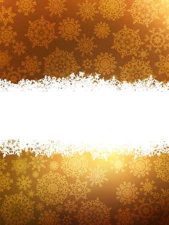 Elegant gold christmas background.  Vector