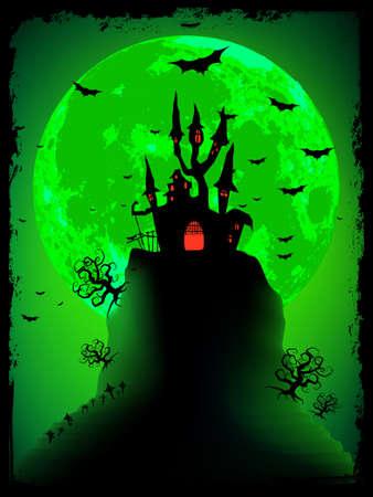 horror castle: Scary halloween con Abad�a m�gica.