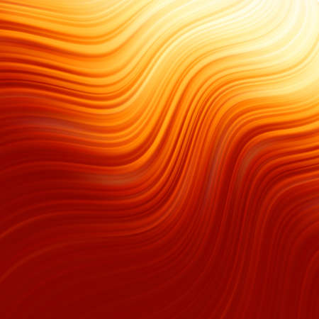 Abstract glow Twist background with golden flow. Vector