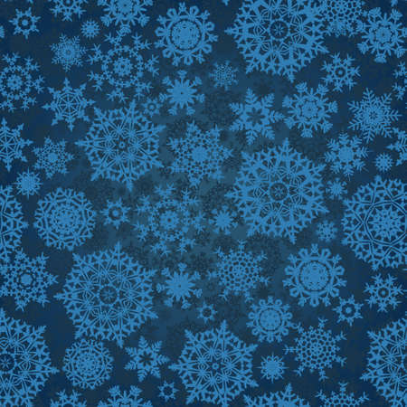 Christmas seamless pattern with stylized snowflakes. Stock Vector - 10065607