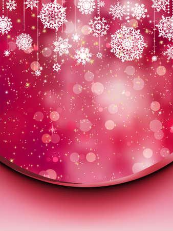희미한 빛: 우아한 크리스마스 배경입니다.