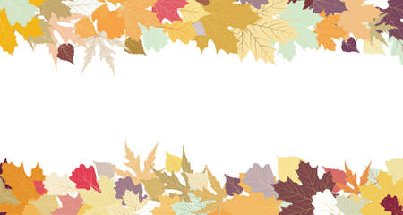 Autumn design with copy space  Vector