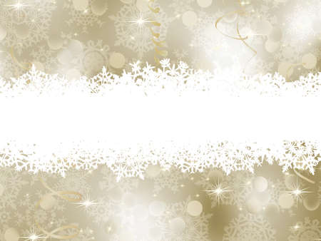 Elegant Christmas Background.   Stock Photo - 10268977