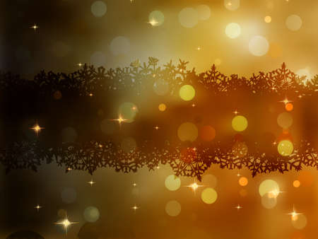 Christmas gold background.  Vector