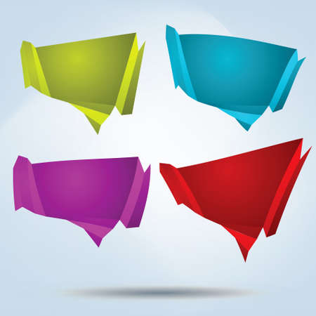 Abstract bubbles for speech. EPS 8 vector file included Vector