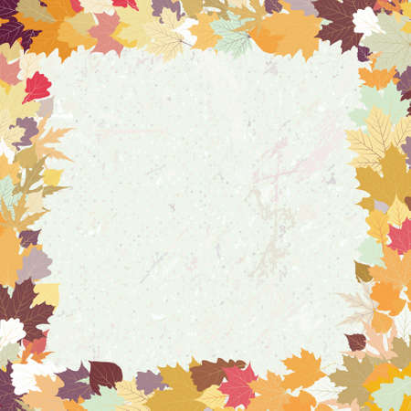 Grunge autumn background. EPS 8 vector file included Stock Photo