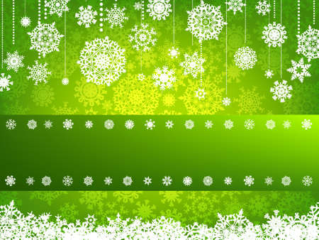 Beige christmas background with christmas snowflake. EPS 8 vector file included Stock Photo - 10373994