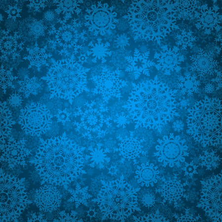 Seamless deep blue christmas texture pattern. EPS 8 vector file included Stock Photo - 10473717