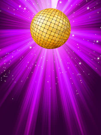 Party lights background.  Vector