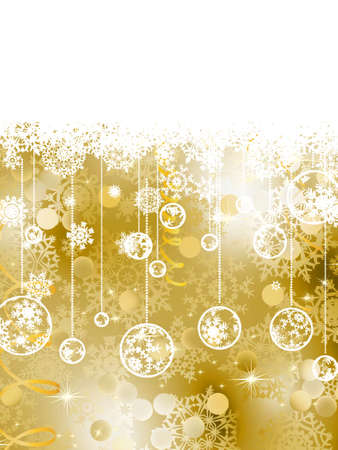 Elegant Christmas Background. EPS 8 vector file included Stock Vector - 10554114