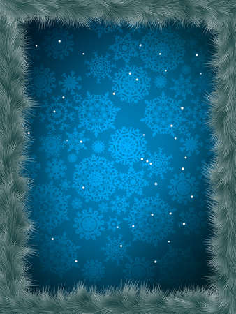 Christmas banner template. Vector