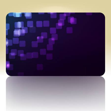 Beautiful gift card Stock Vector - 10645538