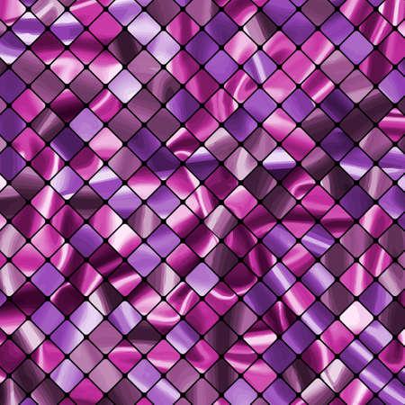ceramiki: Małe tekstury płytki w różnych odcieniach Fioletu. EPS 8 plik wektorowy zawarte