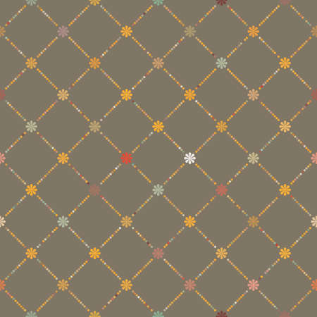 Retro dot pattern background. EPS 8 vector file included Vector