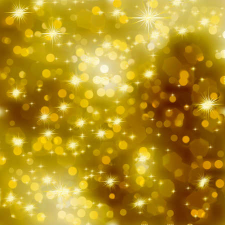 Glittery gold Christmas background. EPS 8 vector file included Stock Vector - 10661855