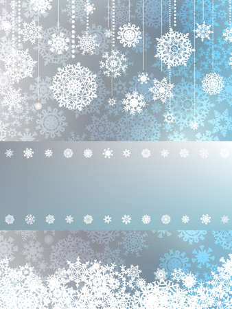 Beige christmas background with christmas snowflake. EPS 8 vector file included Stock Vector - 10718695
