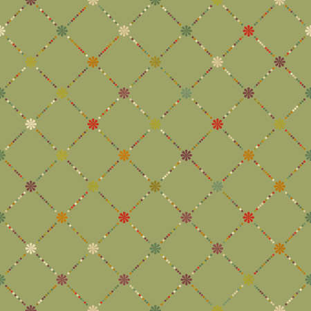 scrap booking: Retro dot pattern background. Illustration