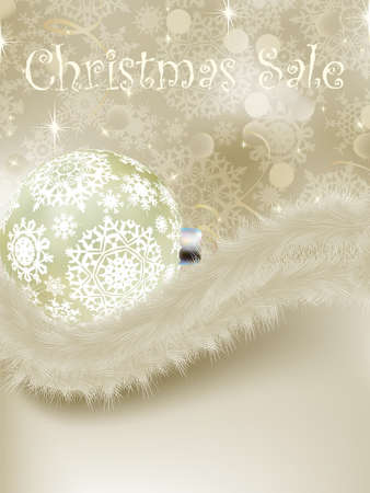 cristmas card: Elegant new year and cristmas card template.  Illustration