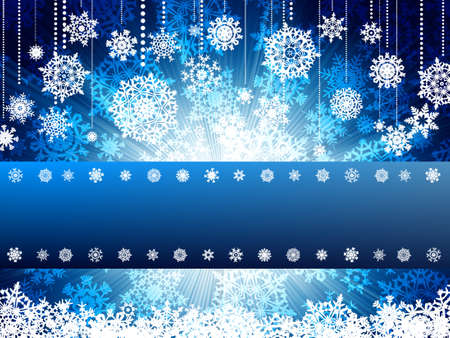 cristmas card: Bright new year and cristmas card template.