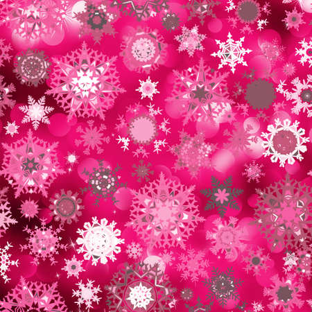 Purple abstract christmas background with snowflake. EPS 8 vector file included Vector