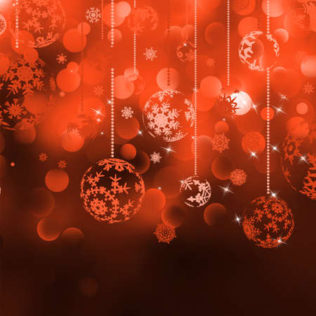Merry Christmas Elegant Background for Flyers or Posters. EPS 8 vector file included Vector