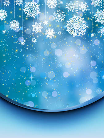 Elegant christmas background. EPS 8 vector file included Vector