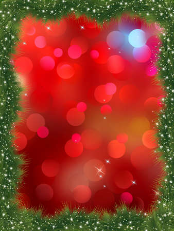 New year frame with copy space. Vector