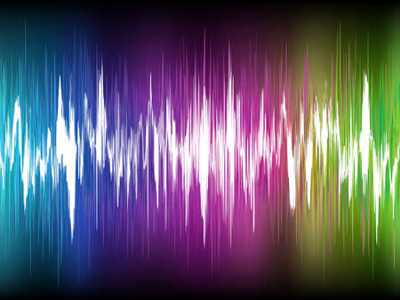 Equalizer Abstract Sound Waves. EPS 8 vector file included Vector